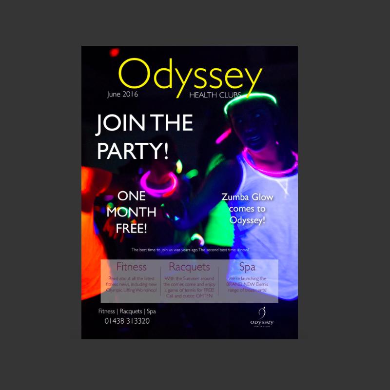 Odyssey Health Club Magazine